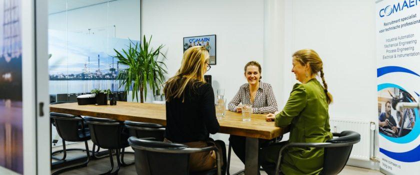 Vragen tijdens sollicitatie gesprek technische professionals