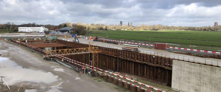 Nieuwe technieken in de Rijnlandtunnel